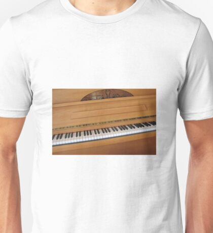 Tickling the Ivories - Piano Keyboard Unisex T-Shirt