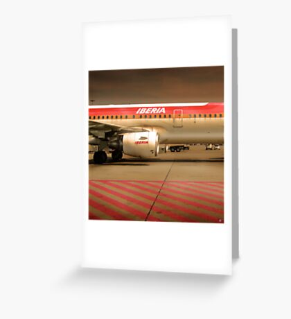 Tarmac 24 Greeting Card