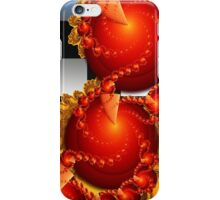 Red Cheese Balls iPhone Case/Skin