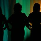 Silouette Singers by moxnat3