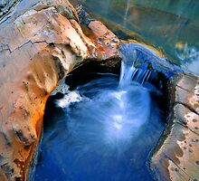 Small Rockpool, Hamersley Gorge by Mark Boyle