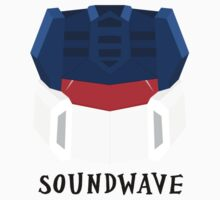 Soundwave [G1] Kids Clothes