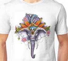 Elephant Headress Unisex T-Shirt