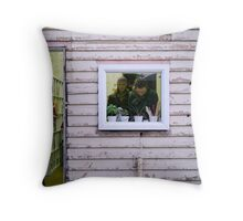 pictured in picture Throw Pillow