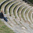 Roman Amphitheatre, Fiesole by RosemaryO