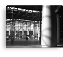 the forecourt : Southern Cross station Canvas Print