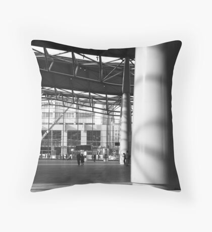 the forecourt : Southern Cross station Throw Pillow