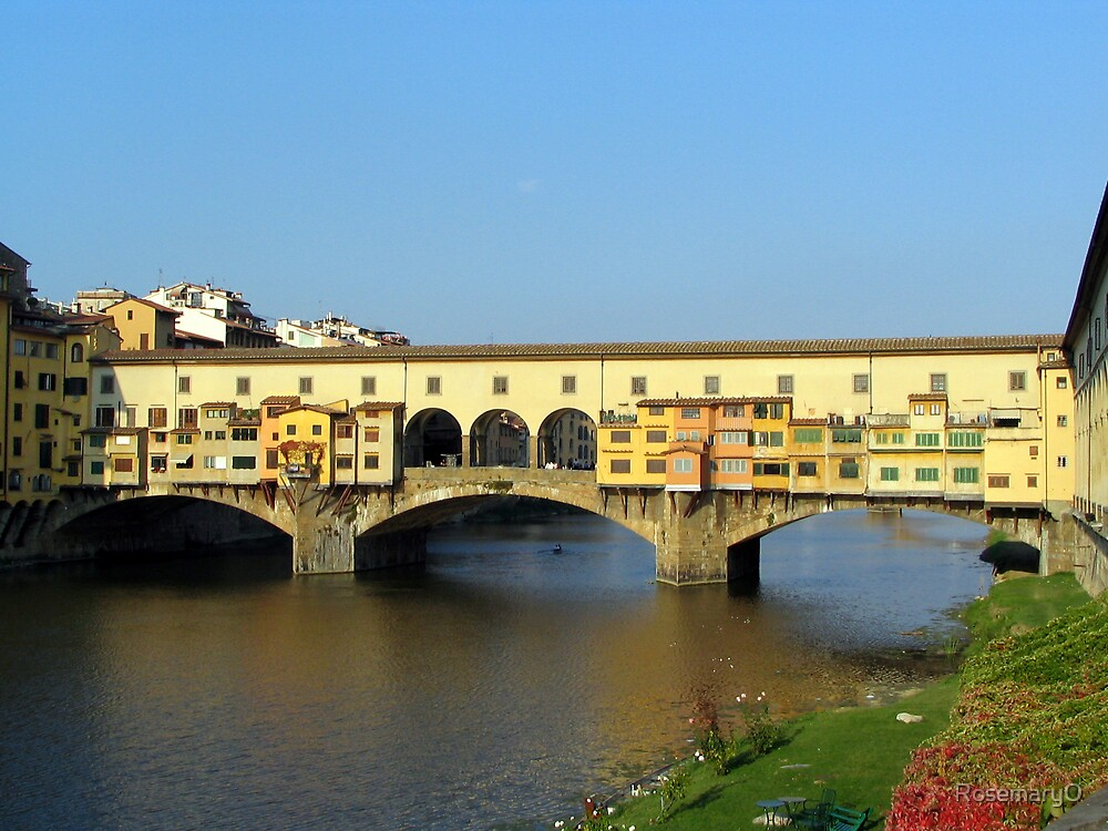 Ponte Vecchio, Florence by RosemaryO