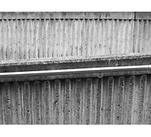 subway walkway Photographic Print