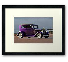 1930 Ford Model A Sedan Framed Print
