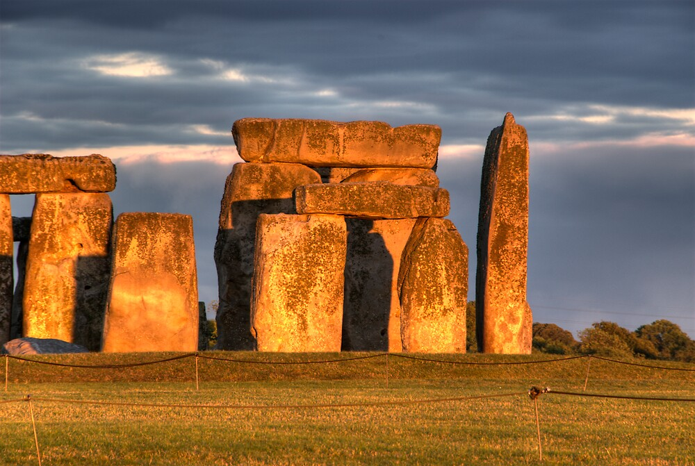 Stonehenge Sunset by Craig Goldsmith