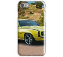 1969 Chevrolet Camaro 'Cowl Induction' iPhone Case/Skin