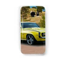 1969 Chevrolet Camaro 'Cowl Induction' Samsung Galaxy Case/Skin