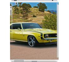 1969 Chevrolet Camaro 'Cowl Induction' iPad Case/Skin