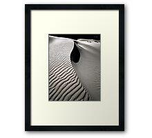 Sand Dune #2 Framed Print