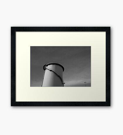 Paper Mill v.1 Framed Print