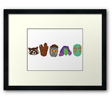 The Galaxy Gang Framed Print