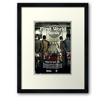 Payday - First World Bank Framed Print