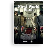 Payday - First World Bank Canvas Print