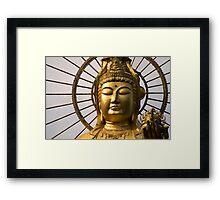 Golden Kannon Framed Print