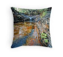 Kalamina Falls, Karijini NP Throw Pillow