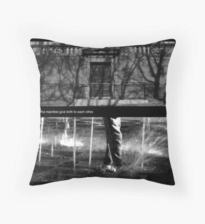 Hidden and Manifest Throw Pillow