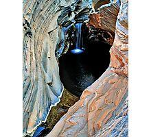 Spa Pool, Hamersley Gorge, Karijini NP Photographic Print