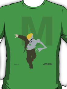 Metallo - Superhero Minimalist Alphabet Clothes T-Shirt