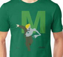 Metallo - Superhero Minimalist Alphabet Clothes Unisex T-Shirt