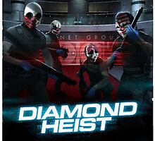 Payday - Diamond Heist by awesomebc