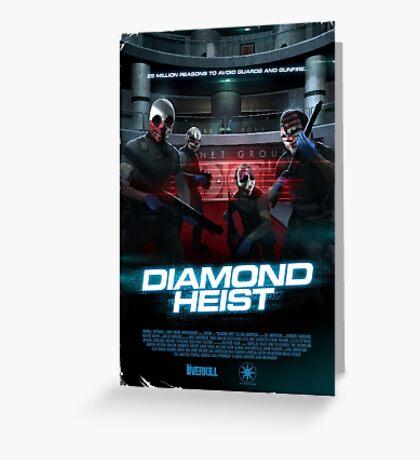 Payday - Diamond Heist Greeting Card