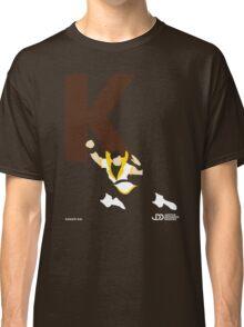 Karate Kid - Superhero Minimalist Alphabet Clothing Classic T-Shirt