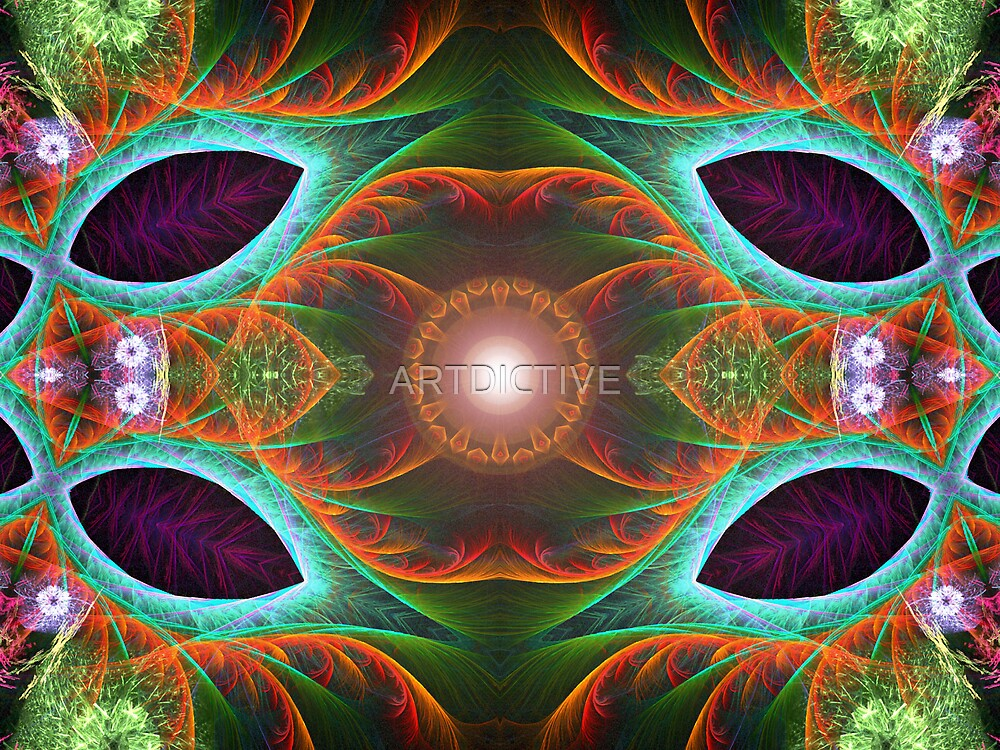 fractalfauna by ARTDICTIVE