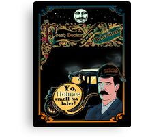 Print The Fresh Doctor Of Baker Street  Canvas Print