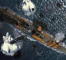 Death of the Yamato by Mil Merchant