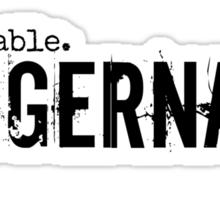 Juggernaut Undeniable Sticker