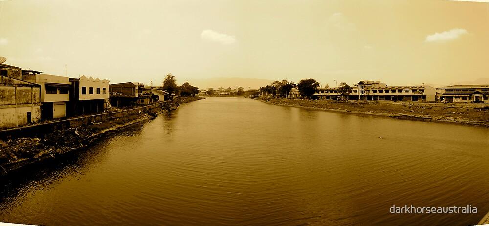 Banda Aceh River  by darkhorseaustralia
