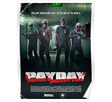 Payday - No Mercy Poster
