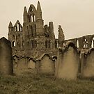 Whitby Gravestones by shane22
