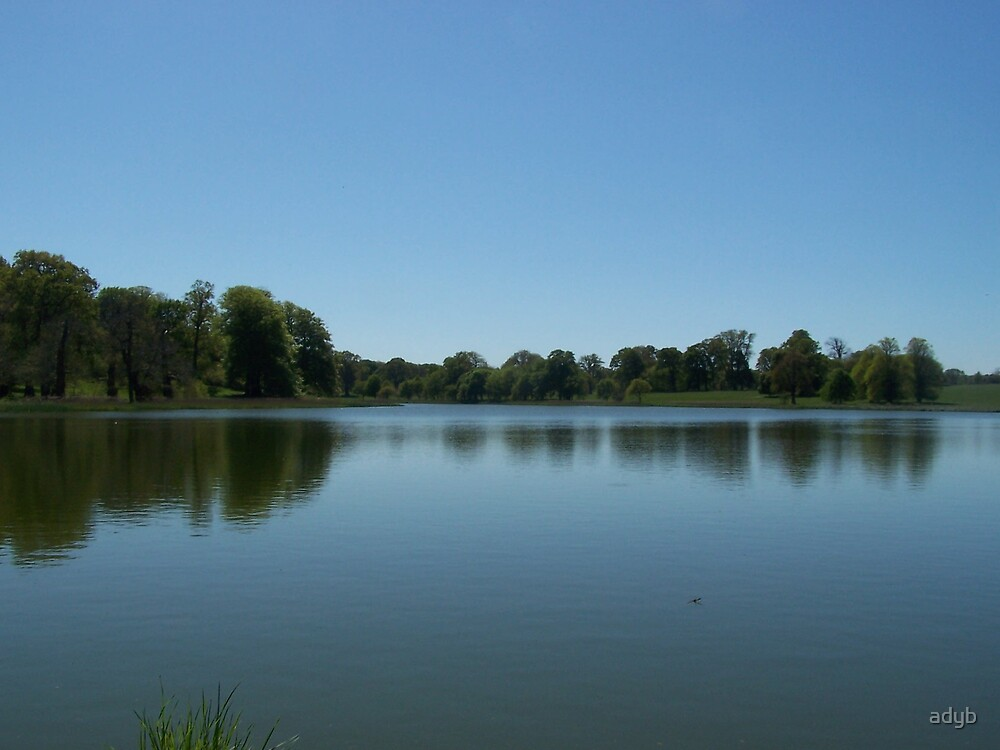 Blickling lake by adyb