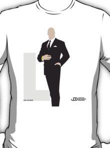 Lex Luthor - Superhero Minimalist Alphabet Clothing T-Shirt