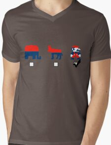 Vote for the Mario Party Mens V-Neck T-Shirt