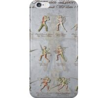"Fiore dei Liberi ""Florius"" Longsword Poste (Guards) iPhone Case/Skin"