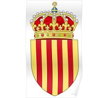 Coat of Arms of Catalonia Poster