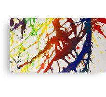 Splattered in Rainbows Canvas Print