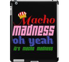 Macho Madness (Mario Colors Edition!) iPad Case/Skin