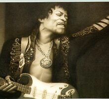 Jimi Hendrix All Along the Watchtower by ChadClark
