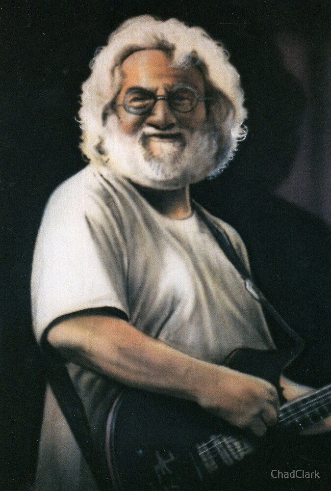 Jerry Garcia by ChadClark