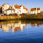 Evening Light, Pittenweem, Scotland by Christine Smith