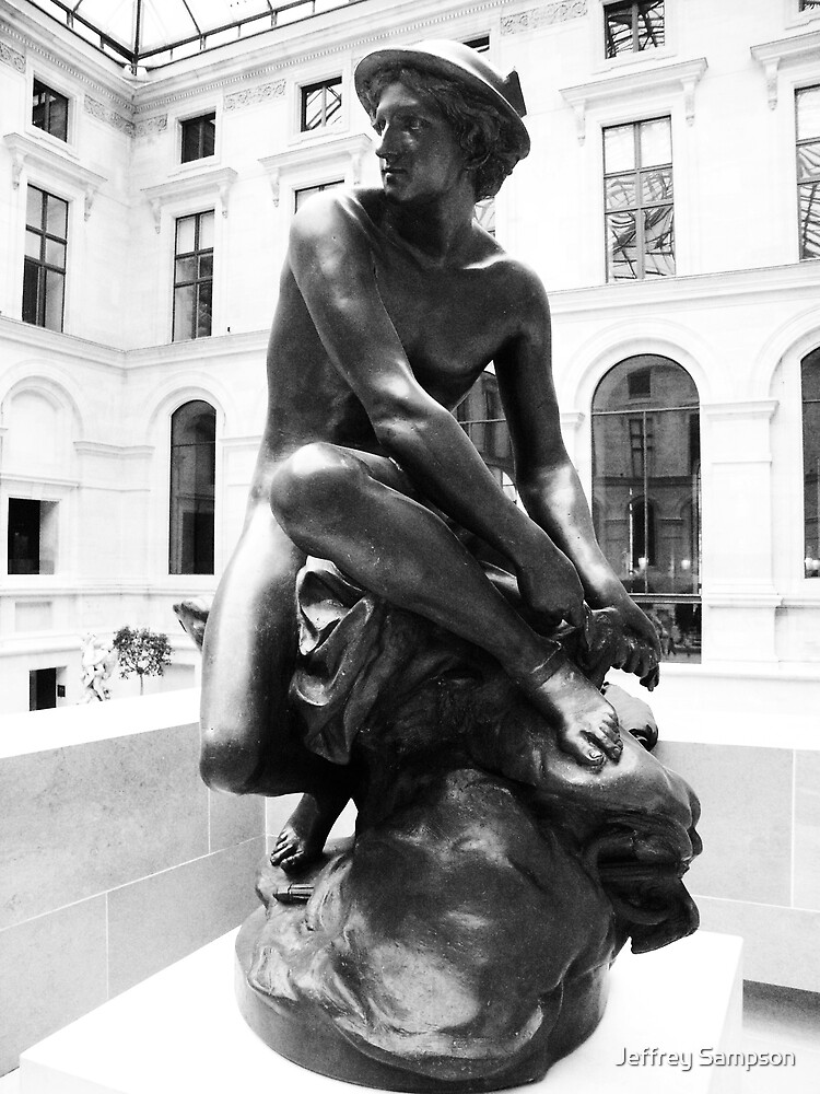 British museum statue by Jeffrey Sampson